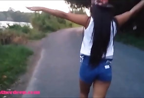 Asian;Teens;Deep Throats;Heather Deep;Highway;Public Flashing Heather Deep...