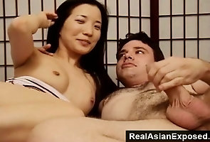 Amateur;Asian;Blowjobs;Hardcore;Teens;Orgasm;Pussy;Couple;Real Asian Exposed Let's make a...