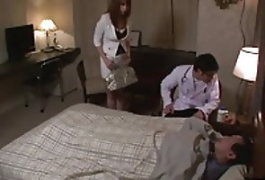 Asian;Cumshots;Japanese;Enjoys;Jav HD Busty mom, Araki...