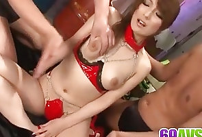 Anal;Asian;Bondage;Double Penetration;Japanese;Screams;Having;Av 69 Aiko Nagai...