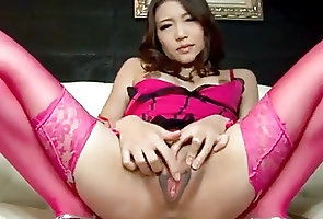 Asian;Japanese;Lingerie;Sex Toys;Squirting;Her Pussy;Play with Pussy;Pussy on Cam;Removes;On Cam;Pussy Play;Play;Pussy;Shio Fuky Ibuki removes her...