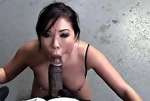 asian,bukkake,deep-throat,interracial London Keyes...