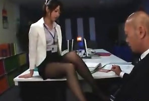 kink;japanese;nylon;footjob;footjob;pantyhose;femdom;foot;worship;feet;soles;foot;fetish,Asian;Handjob;Feet;Japanese Cute asian...