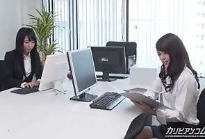 caribbeancom;orgasm;squirting;group;3some,Lesbian;Japanese 【無】オフィスラバーズ...