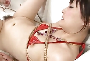 Asian;Bikini;Blowjobs;Bondage;Japanese;Jav HD Babe in red...