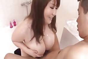Asian;Big Boobs;Japanese JaP titfuck