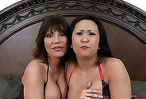 Asian;Big Boobs;Matures;Pornstars;Threesomes A threesome with...