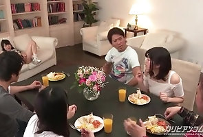 caribbeancom;orgasm;squirting;group,Asian;Orgy;Creampie;Squirt;60FPS 【無】クロージング・くぱぁ...